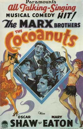 The Cocoanuts - 11 x 17 Movie Poster - Style D