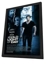 The Cold Light of Day - 11 x 17 Movie Poster - Style B - in Deluxe Wood Frame