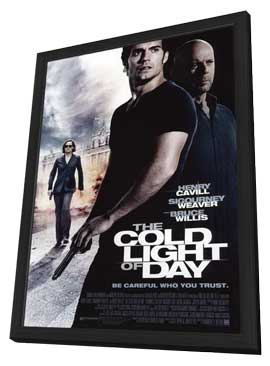 The Cold Light of Day - 11 x 17 Movie Poster - Style A - in Deluxe Wood Frame