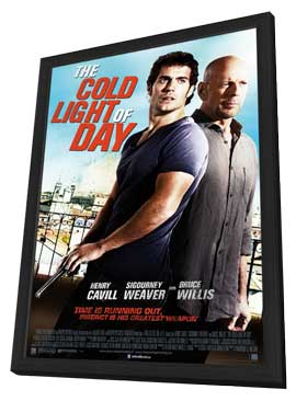 The Cold Light of Day - 27 x 40 Movie Poster - Style A - in Deluxe Wood Frame