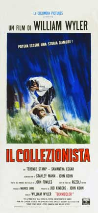 The Collector - 13 x 28 Movie Poster - Italian Style A