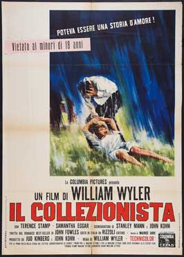 The Collector - 11 x 17 Movie Poster - Italian Style A