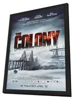 The Colony - 27 x 40 Movie Poster - Canadian Style A - in Deluxe Wood Frame