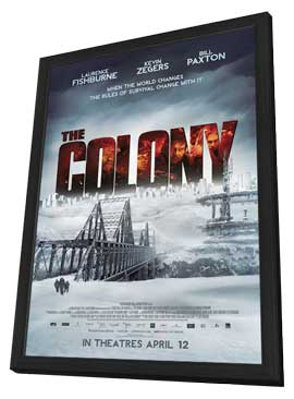 The Colony - 11 x 17 Movie Poster - Canadian Style A - in Deluxe Wood Frame