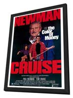 The Color of Money - 27 x 40 Movie Poster - Style A - in Deluxe Wood Frame