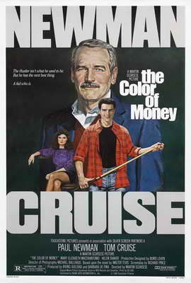 The Color of Money - 27 x 40 Movie Poster - Style B
