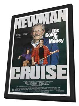 The Color of Money - 27 x 40 Movie Poster - Style B - in Deluxe Wood Frame