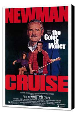 The Color of Money - 27 x 40 Movie Poster - Style A - Museum Wrapped Canvas