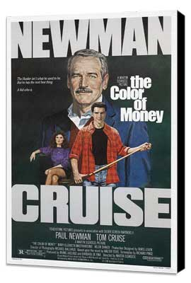The Color of Money - 27 x 40 Movie Poster - Style B - Museum Wrapped Canvas