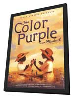 The Color Purple (Broadway) - 27 x 40 Poster - Style A - in Deluxe Wood Frame