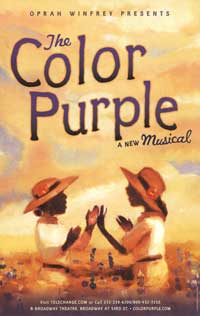 The Color Purple (Broadway) - 11 x 17 Poster - Style A