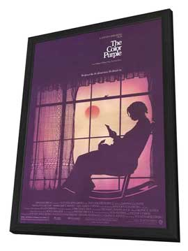 The Color Purple - 11 x 17 Movie Poster - Style A - in Deluxe Wood Frame