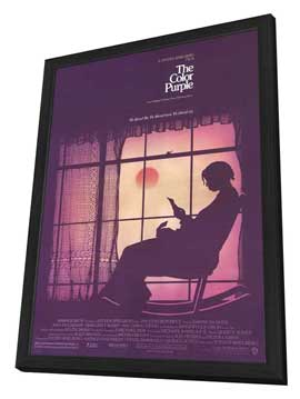 The Color Purple - 27 x 40 Movie Poster - Style A - in Deluxe Wood Frame