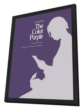The Color Purple - 27 x 40 Movie Poster - Style C - in Deluxe Wood Frame