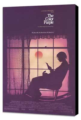 The Color Purple - 27 x 40 Movie Poster - Style A - Museum Wrapped Canvas