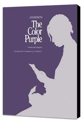 The Color Purple - 27 x 40 Movie Poster - Style C - Museum Wrapped Canvas