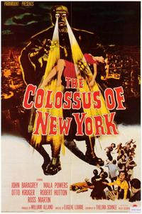 The Colossus of New York - 43 x 62 Movie Poster - Bus Shelter Style A