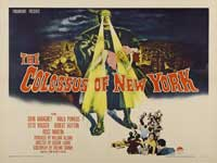 The Colossus of New York - 30 x 40 Movie Poster - Style A
