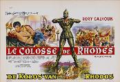 The Colossus of Rhodes - 11 x 17 Movie Poster - Belgian Style A