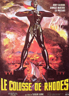 The Colossus of Rhodes - 11 x 17 Movie Poster - French Style B