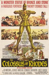 The Colossus of Rhodes - 11 x 17 Movie Poster - Style A
