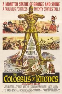The Colossus of Rhodes - 27 x 40 Movie Poster - Style A