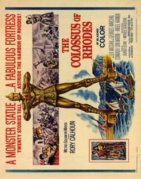 The Colossus of Rhodes - 22 x 28 Movie Poster - Half Sheet Style A