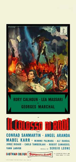 The Colossus of Rhodes - 20 x 40 Movie Poster - Style A