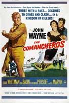 The Comancheros - 11 x 17 Movie Poster - Style D