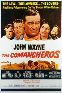 The Comancheros - 11 x 17 Movie Poster - Style A
