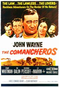 The Comancheros - 27 x 40 Movie Poster - Style A