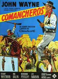 The Comancheros - 11 x 17 Movie Poster - Style B