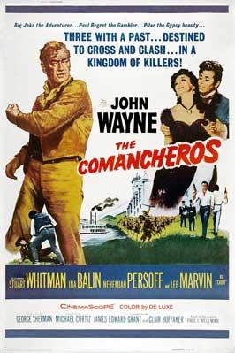 The Comancheros - 27 x 40 Movie Poster - Style D