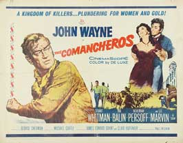 The Comancheros - 22 x 28 Movie Poster - Half Sheet Style A