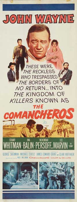 The Comancheros - 14 x 36 Movie Poster - Insert Style A
