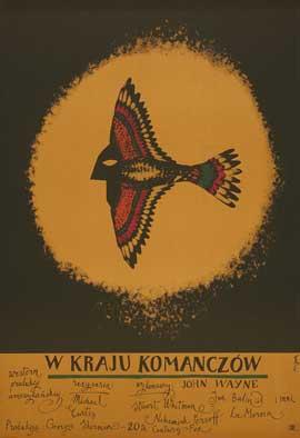 The Comancheros - 27 x 40 Movie Poster - Polish Style A