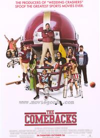 The Comebacks - 43 x 62 Movie Poster - Bus Shelter Style B
