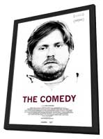 The Comedy - 27 x 40 Movie Poster - Style B - in Deluxe Wood Frame