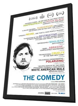 The Comedy - 27 x 40 Movie Poster - Style A - in Deluxe Wood Frame