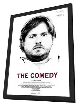 The Comedy - 11 x 17 Movie Poster - Style B - in Deluxe Wood Frame