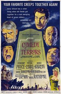 The Comedy of Terrors - 11 x 17 Movie Poster - Style A