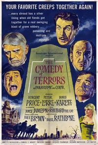 The Comedy of Terrors - 27 x 40 Movie Poster - Style A