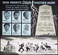 The Comedy of Terrors - 30 x 30 Movie Poster - Style A