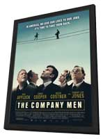The Company Men - 27 x 40 Movie Poster - Style A - in Deluxe Wood Frame