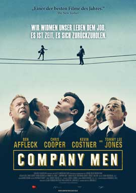 The Company Men - 11 x 17 Movie Poster - German Style C