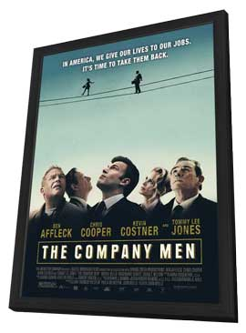 The Company Men - 11 x 17 Movie Poster - Style A - in Deluxe Wood Frame