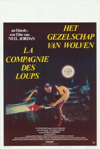 The Company of Wolves - 11 x 17 Movie Poster - Belgian Style A