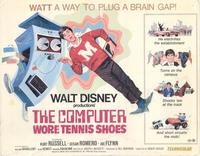 The Computer Wore Tennis Shoes - 11 x 14 Movie Poster - Style A