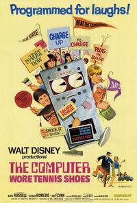 The Computer Wore Tennis Shoes - 27 x 40 Movie Poster - Style A