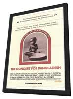 The Concert for Bangladesh - 27 x 40 Movie Poster - Style A - in Deluxe Wood Frame